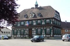 Gemeindehaus in einem kleinen französischen Dorf.