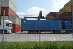 Container drauf ...