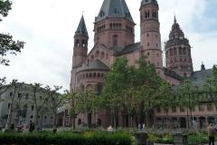 Ein weiterer Dom, diesmal derjenige von Mainz.