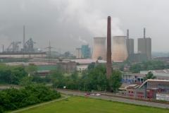Schwerindustrie etwas vor Duisburg