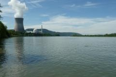 ... und wieder Stromproduktion (nun zurück am Rhein) ...