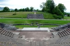Amphitheater in Augusta Raurica, bei Augst BL.