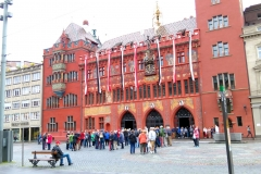 Das rund 500jährige Basler Rathaus.