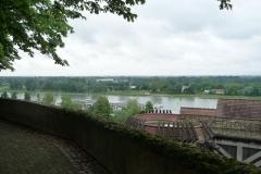 Blick vom Münster in Breisach.