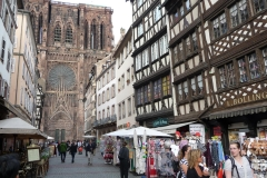 Blick auf das Strassburger Münster.